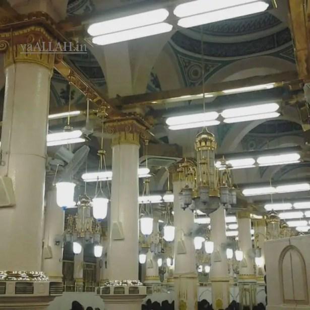 Masjid Nabawi Wallpaper At Night_yaALLAH.in_32