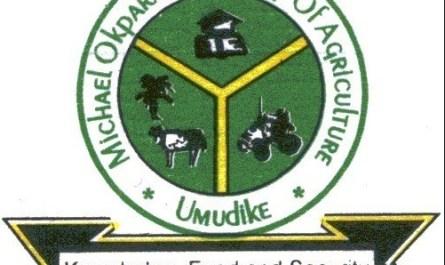 Michael Okpara University of Agriculture, Umudike (MOUAU)