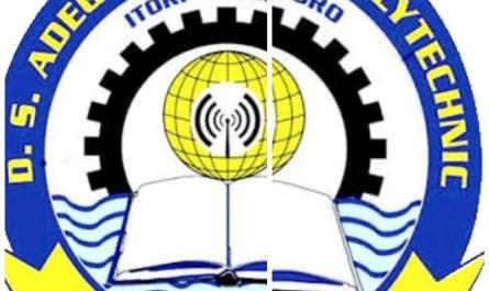 DS Adegbenro ICT Polytechnic (DSADEGBENROPOLY)