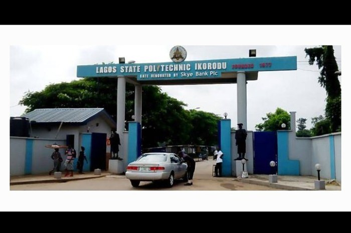 LASPOTECH HND Admission For 2020/2021 Session Is Out