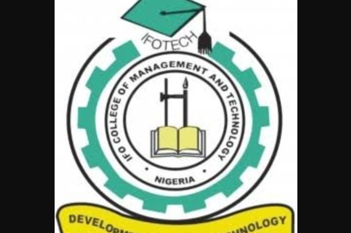 Ifo College of Management & Technology, (IFOTECH Poly) School Fees Schedule for 2020/2021 Session Is Out