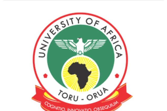 University of Africa Toru Orua (UAT) Post UTME Form for 2020/2021 Academic Session Is Out [See How To Apply]