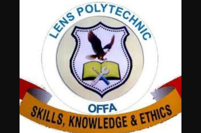 Lens Polytechnic Offa (LENSPOLY) Announce September 14 As Resumption Date