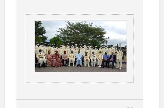 Nigerian Navy School of Health Sciences Offa holds 2020 POP, Graduation Ceremony