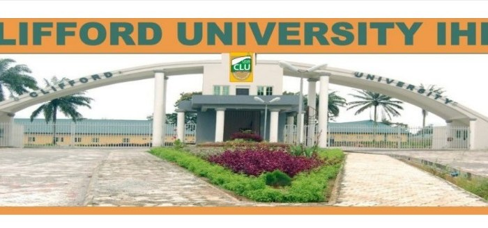 Post COVID-19: Clifford University (CLU) Resumption Date for Completion of 1st Semester 2019/2020