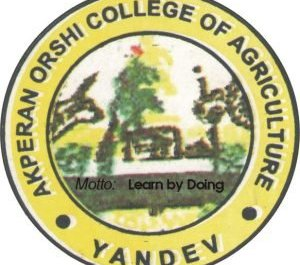 Akperan Orshi College of Agriculture, Yandev (AOCAY)