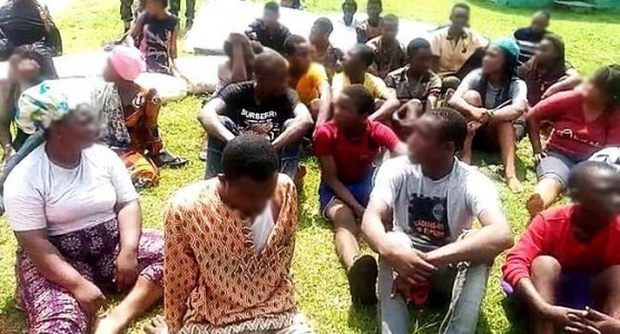 Soldiers Arrest Suspected Looters Of NYSC Camp In Abuja