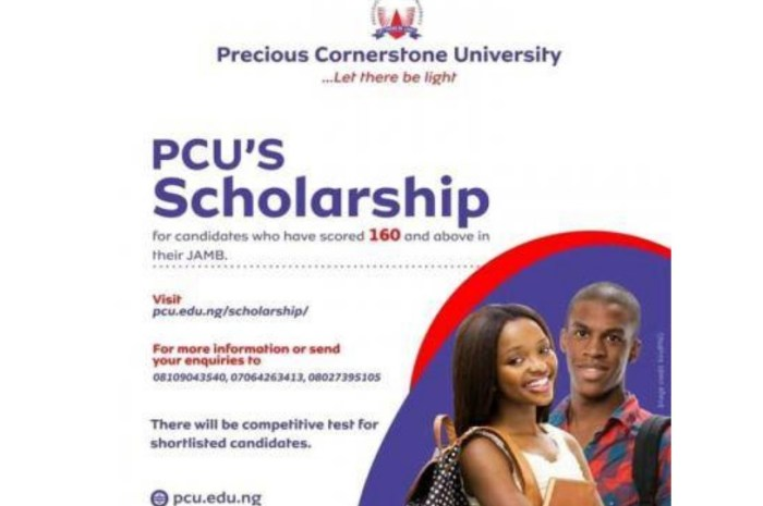 Promoters Scholarship 2020 At Precious Cornerstone University – Nigeria