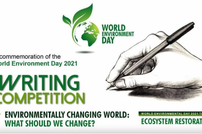 EMEND World Environment Day 2021 Writing Competition