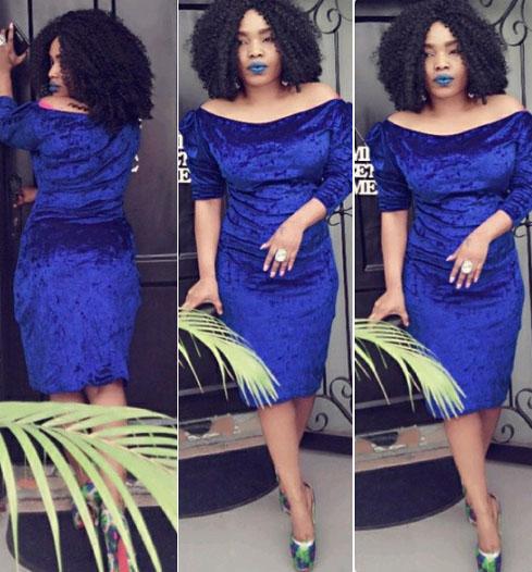 Halima-abubakar-goes-blue-yabaleftonlinecom
