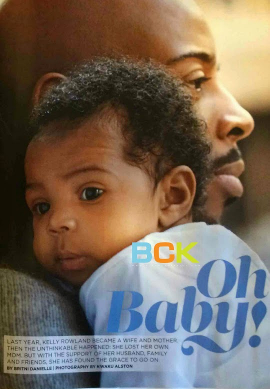 Kelly Rowland's Adorable Family