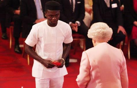 Kelvin Ogholi Awarded By The Queen