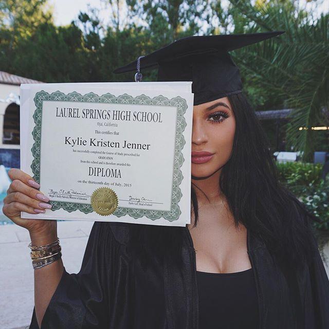 Kylie High School Grad