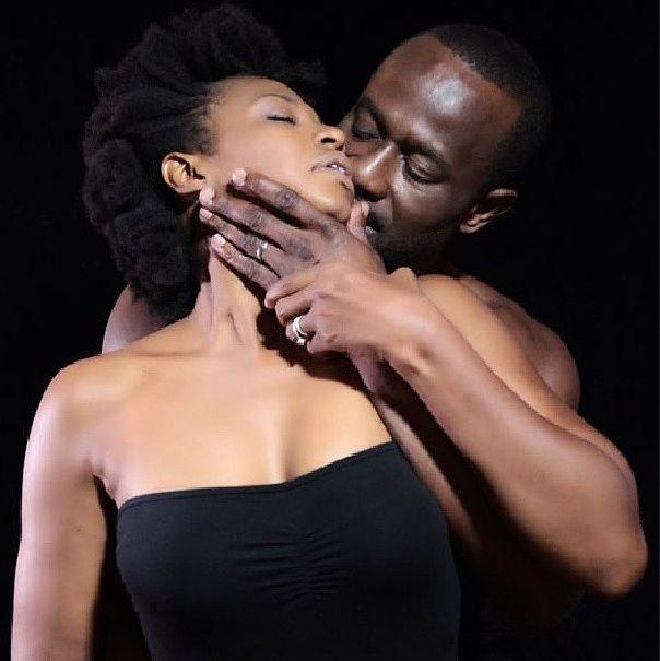 Nse Ikpe Etim With Husband