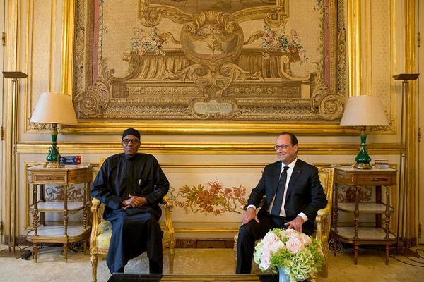 Buhari In France2