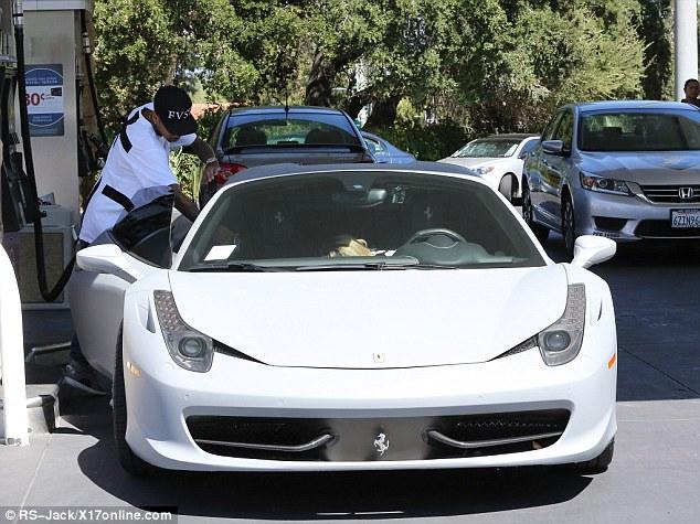 Tyga Kylie Ferrari