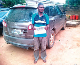 Usman and The stolen vehicle