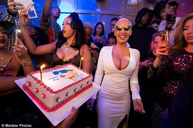 Amber Rose 32nd Birthday1