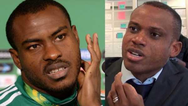 Vincent Enyeama and Sunday Oliseh