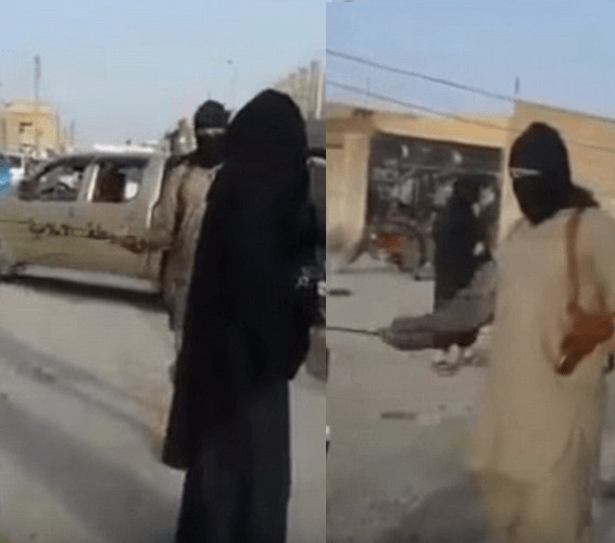 Whipped ISIS Women