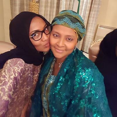 Abachas Visit Buhari2