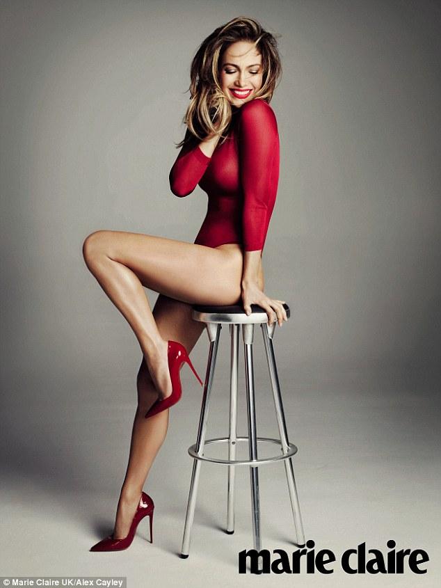 Jennifer Lopez Marie Claire