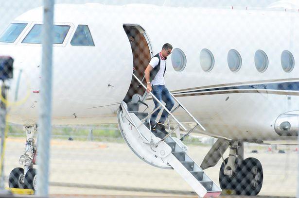 Ronaldo Private Jet