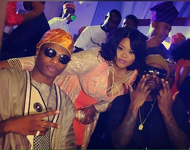 Wizkid, Chyna Bee and Wale
