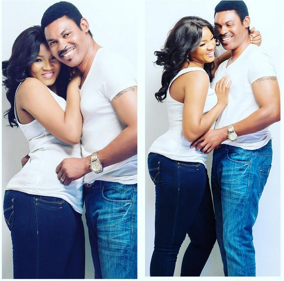 Fans Share Their Lovely Encounter With Omotola's Husband
