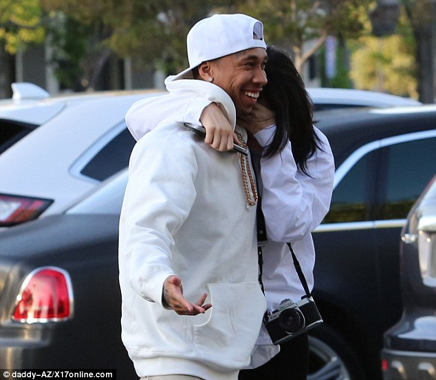 Kylie And Tyga Loved Up2