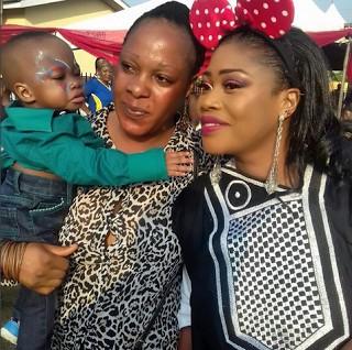 Bimbo Akinsanya Son's Day2