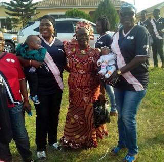 Bimbo Akinsanya Son's Day3