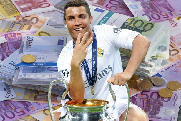 Ronaldo richest athlete