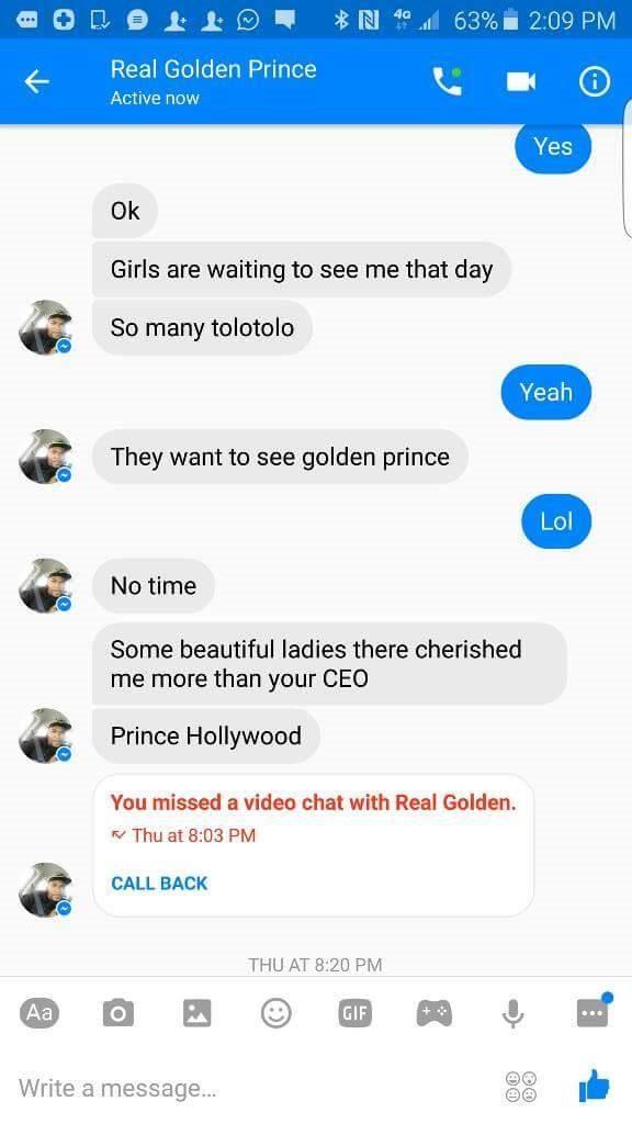 Girls that send nudes on facebook