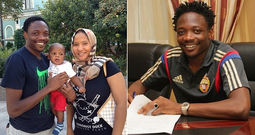 Ahmed Musa divorced
