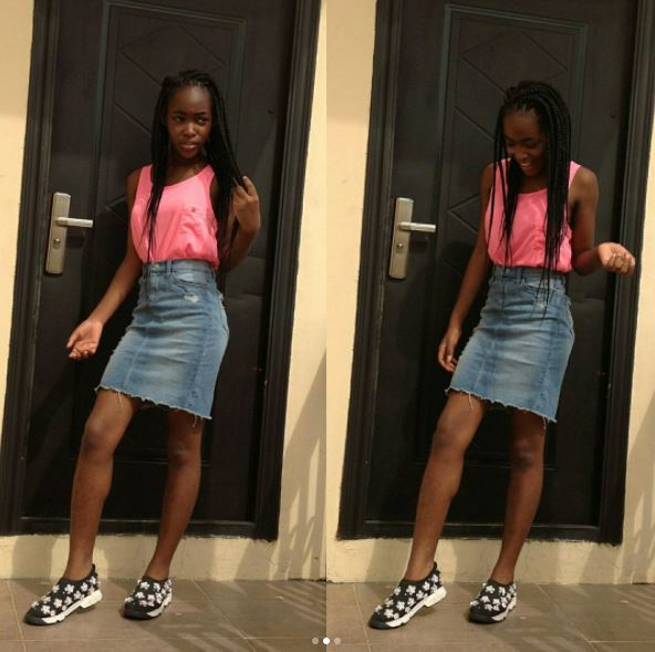 Mercy Aigbe daughter @aschoolz.com