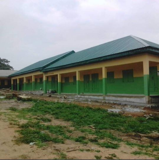 dino melaye builds two schools