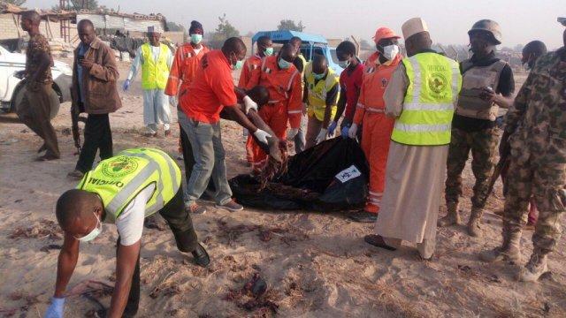 female suicide bomber atacks mosque