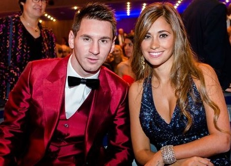 Lionel Messi Lovely Wife