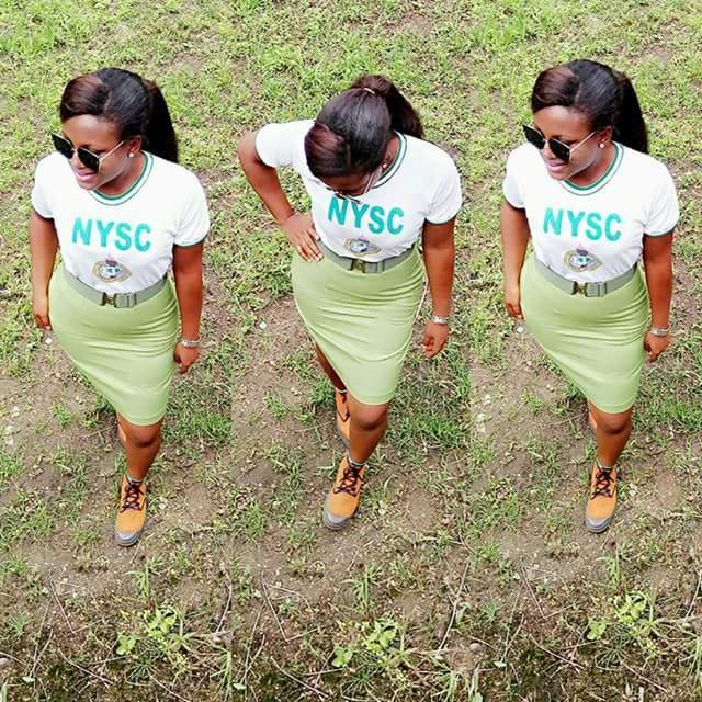 Corps Member Rocked NYSC Uniform