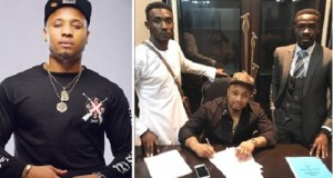 davido's cousin b-red renews hkn music contract