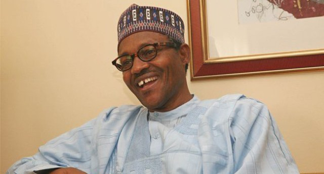 President Buhari jokes