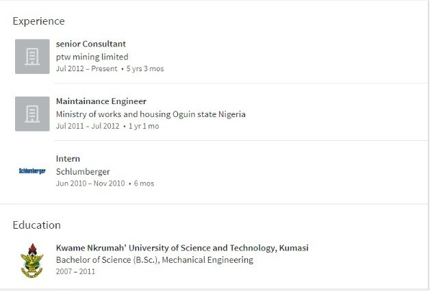 mr eazi's linkedin profile