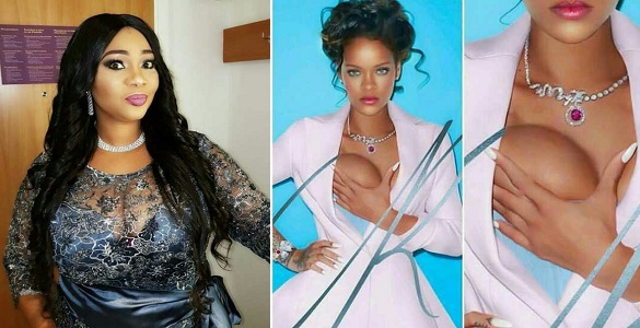 """This Is Madness!"" – Actress Jaiye Kuti reacts to Rihanna's dressing"