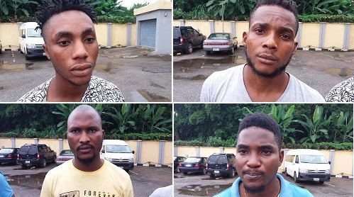 EFCC arrests 4 Yahoo Boys
