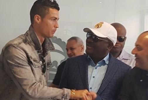 Wike meets Ronaldo