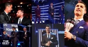 Cristiano Ronaldo beats Messi
