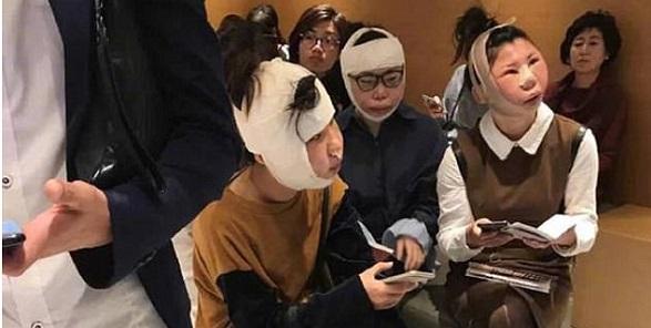 3 Chinese women stopped