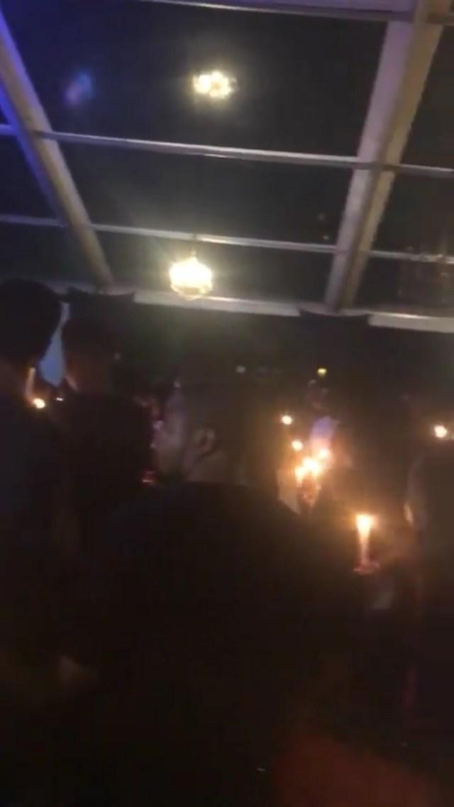 DJ Olu's Candlelight Service