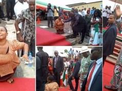 Enugu Governor Asks Disabled Woman